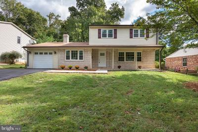 Rockville Single Family Home For Sale: 2893 Balmoral Drive
