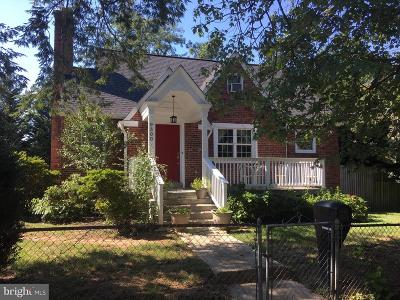 Silver Spring Single Family Home For Sale: 9300 Flower Avenue