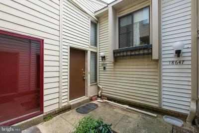 Montgomery Village Townhouse Active Under Contract: 18649 Pier Point Place