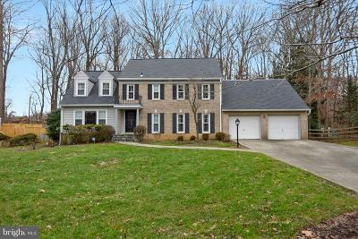 Rockville Single Family Home For Sale: 16705 George Washington Drive