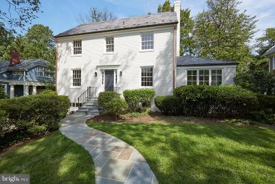Bethesda, Chevy Chase Single Family Home For Sale: 3901 Woodbine Street
