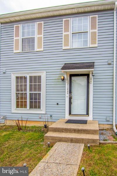 Germantown Townhouse For Sale: 11423 Brundidge Terrace