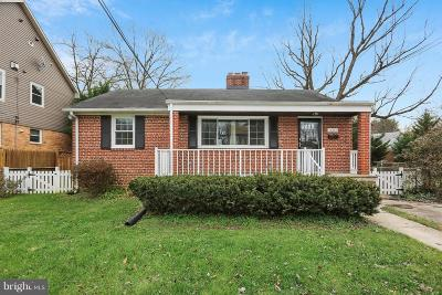 Silver Spring Single Family Home For Sale: 1804 Eldon Lane