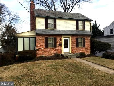 Bethesda Rental For Rent: 7823 Marion Lane