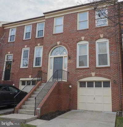 Rockville Townhouse For Sale: 1373 Templeton Place