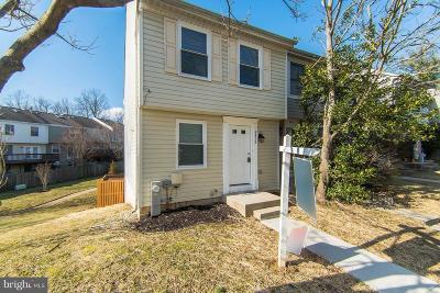 Burtonsville Townhouse For Sale: 4416 Regalwood Terrace
