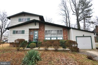 Rockville MD Single Family Home For Sale: $537,000