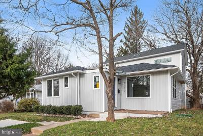 Kensington Single Family Home For Sale: 3913 Kincaid Terrace