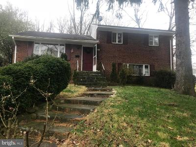 Rockville Single Family Home For Sale: 4832 Ertter Drive