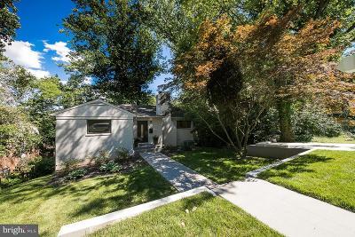 Bethesda Single Family Home For Sale: 5210 Danbury Road