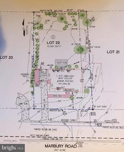 Bethesda Residential Lots & Land For Sale: 7608 Marbury Road