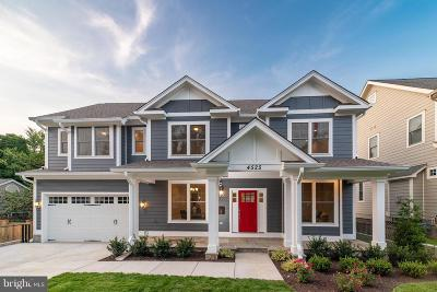 Bethesda Single Family Home For Sale: 4525 Fairfield Drive