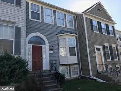Montgomery County Townhouse For Sale: 14725 Mc Knew Road