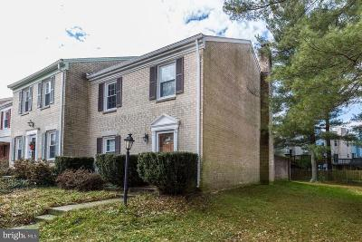 Gaithersburg Townhouse For Sale: 14 Landsend Drive