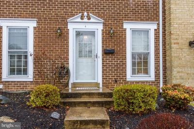 Gaithersburg Townhouse For Sale: 4 Honey Brook Lane