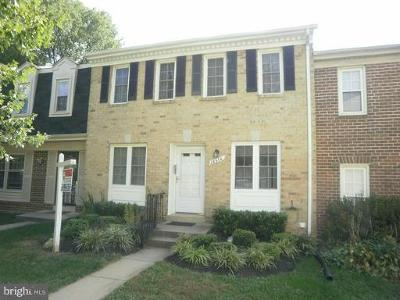 Montgomery County Townhouse For Sale: 18510 Grackle Way