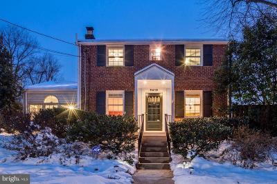 Silver Spring, Wheaton Single Family Home For Sale: 9619 Brunett Avenue