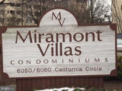 Rockville Condo For Sale: 6050 California Circle #210