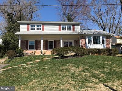 Potomac Single Family Home For Sale: 8513 Wilkesboro Lane