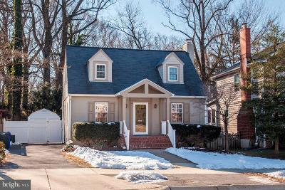 Silver Spring Single Family Home Under Contract: 320 Franklin Avenue