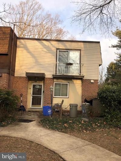 Montgomery County Townhouse Active Under Contract: 12261 Greenleaf Avenue