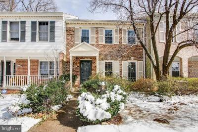Rockville Townhouse For Sale: 12253 Tildenwood Drive