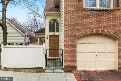 Rockville Townhouse For Sale: 10809 Luxberry Drive #16