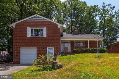 Silver Spring Single Family Home For Sale: 10220 Green Forest Drive