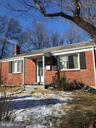 Silver Spring Single Family Home Under Contract: 12208 Atherton Drive