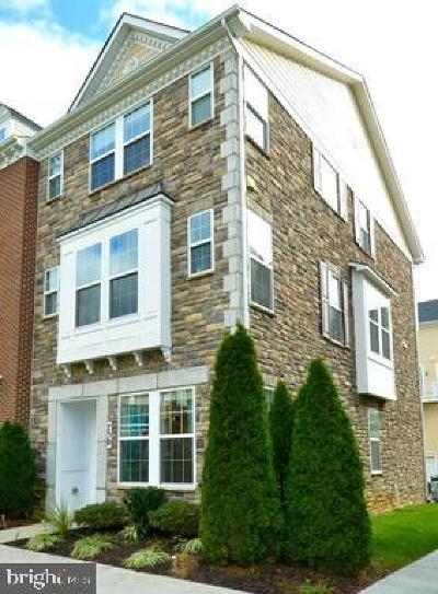 Washington County, Montgomery County, Fairfax County Rental For Rent: 750 Cobbler Place