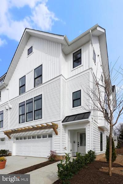 Montgomery County Townhouse For Sale: 2651 McComas Avenue