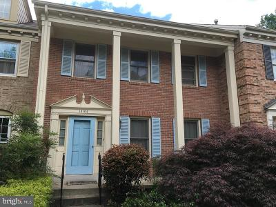 Bethesda Townhouse For Sale: 10104 Crestberry Place
