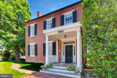 Montgomery County Single Family Home For Sale: 7000 Brink Road