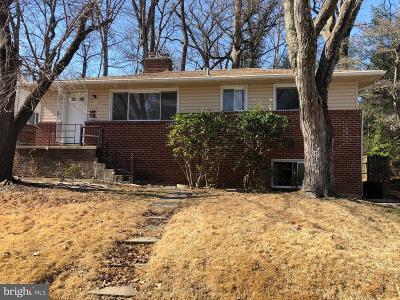 Silver Spring Single Family Home For Sale: 10708 Lockridge Drive