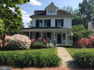 Kensington Single Family Home For Sale: 3920 Washington Street