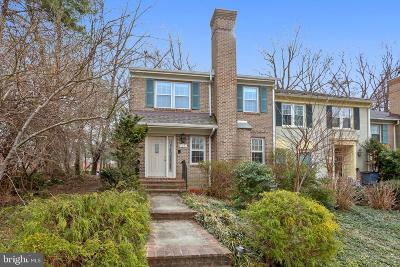 Potomac Townhouse For Sale: 17 Bentridge Court