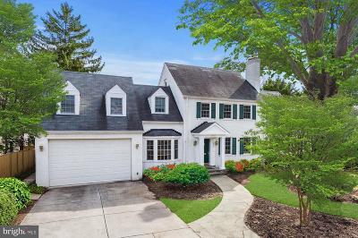 Bethesda Single Family Home For Sale: 7617 Denton Road