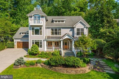 Bethesda MD Single Family Home For Sale: $1,995,000