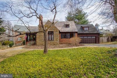 Bethesda Single Family Home For Sale: 5308 Huntington Parkway