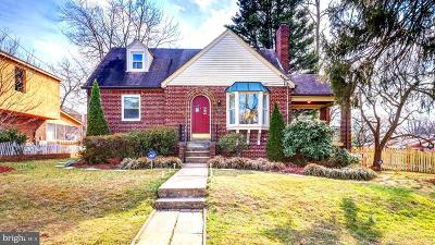 Silver Spring Single Family Home For Sale: 406 Lanark Way