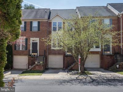 Potomac Townhouse For Sale: 10514 Sunny Brook Lane