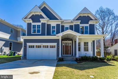 Bethesda Single Family Home For Sale: 5904 Roosevelt Street