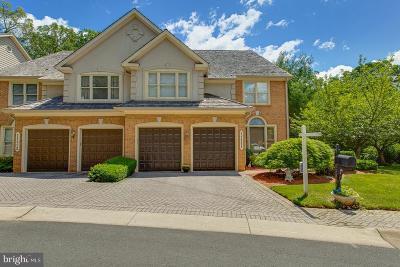 Rockville Townhouse For Sale: 11111 Potomac Crest Drive