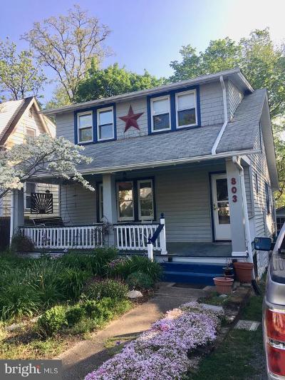 Silver Spring, Wheaton Single Family Home Under Contract: 803 Philadelphia Avenue