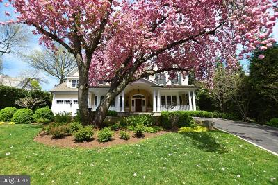 Bethesda MD Single Family Home For Sale: $4,595,000