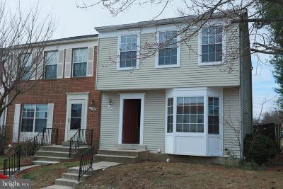 Gaithersburg Townhouse For Sale: 548 Carousel Court