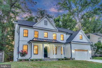 Bethesda Single Family Home For Sale: 8204 Thoreau Drive