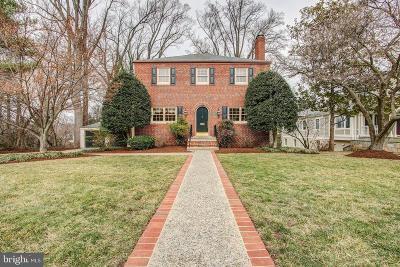 Kensington Single Family Home For Sale: 4209 Everett Street