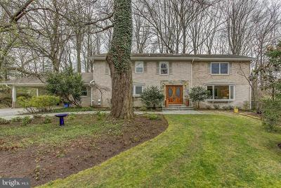 North Bethesda Single Family Home For Sale: 6108 Neilwood Drive