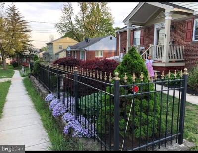 Silver Spring Single Family Home For Sale: 3708 Fairly Street